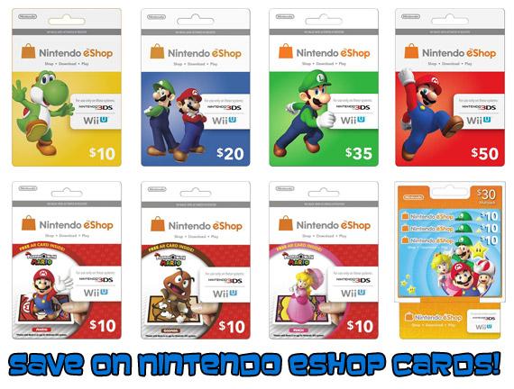 eShop Pre-Paid Card Sale