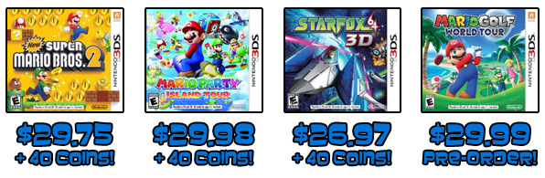 Nintendo 3DS games under thirty bucks